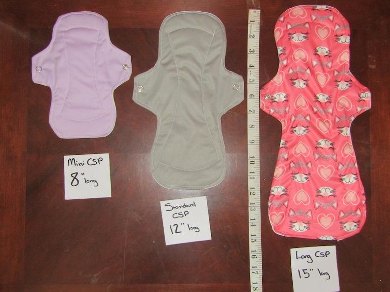 MINI Incontinence Menstural Pad CSP Panty Liner Pack of 3