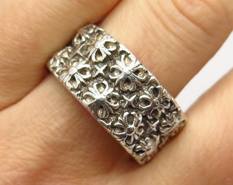 New Amalfi cross Maltese ring knights Sterling Silver 925 Jewelry ring pick size