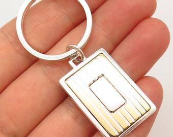 Vintage Key Chain ANSON Keyring 12 Karat gold filled Key Theft Protector Men Accessory Keychain