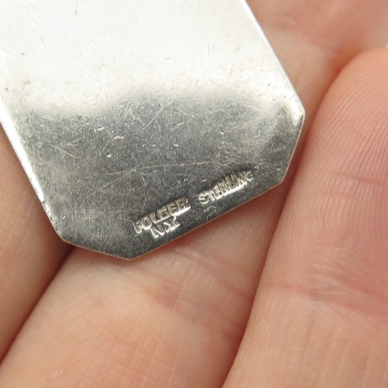 925 Sterling Silver Antique Declamation SHS 31 Charm Pendant