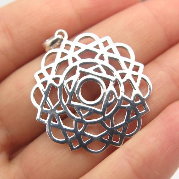 925 Sterling Silver Vintage Celtic Pendant
