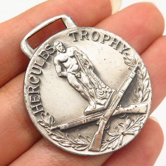 925 Sterling Silver Vintage Blackinton Hercules Tr