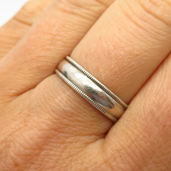 925 Sterling Silver Rope and Plain Twist Vine Strings Comfort Fit,Infinity Thumb Size 3-13 HR-2329 Pinky and Index Eternity Ring For Her-