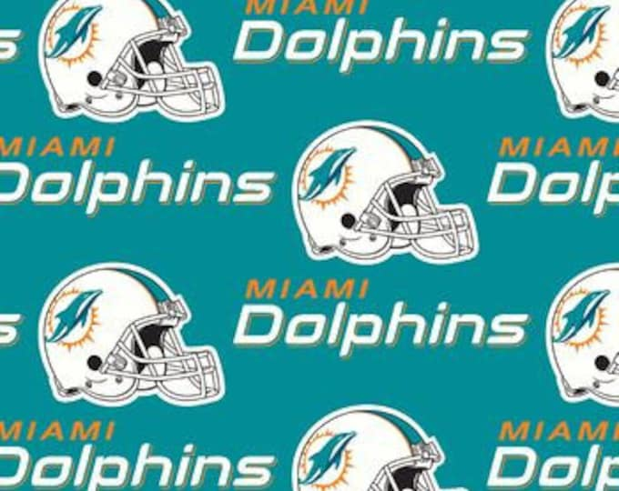Miami Dolphins Fabric by the Yard