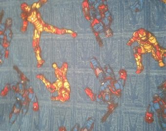 Ironman Flannel Fabric by the Yard