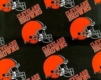Cleveland Browns Fabric by the Yard