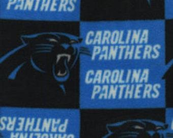 Carolina Panthers Fleece Handcrafted Blanket Sets