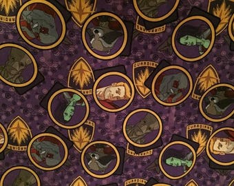 """Valance, Curtain Panel, Matching Pillow Cover  """"Guardians of the Galaxy"""""""