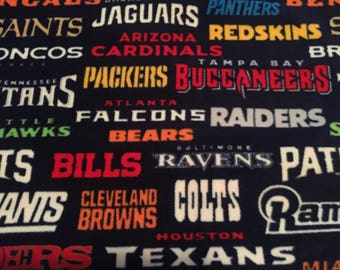 All Teams Fleece Handcrafted Blanket Sets