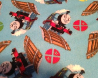 Fleece Thomas the Train Pillowcase