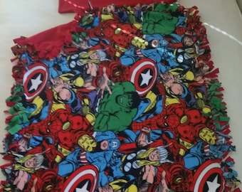 Fleece Marvel Handcrafted Blanket Sets