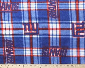 New York Giants patch Fleece Fabric by the Yard fc0b6ffe3