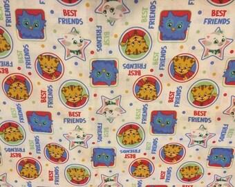 Daniel Tiger Cotton Standard Crib Sheet, Mini Crib Sheet, Changing Pad Cover