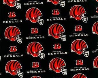 Cincinnati Bengals Fabric by the Yard