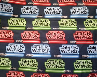 "Valance, Curtain Panel, Matching Pillow Cover ""Star Wars"""
