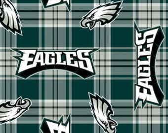 NFL Philadelphia Eagles Fleece Fabric by the Yard