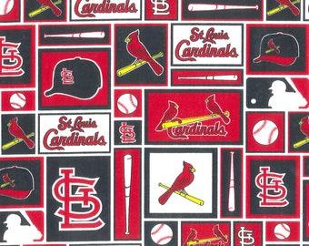 St. Louis Cardinals Lined Placemat, Bowl Mitt, Hot Pad, Matching Lined Table Runner