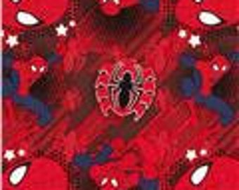 """Valance, Curtain Panel, Matching Pillow Cover """"Spiderman"""""""