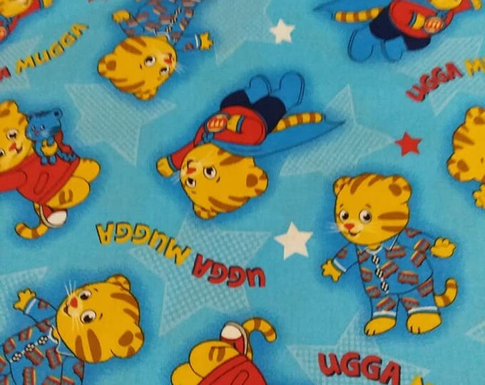 """Valance, Curtain Panel, Matching Pillow Cover """" Daniel Tiger"""""""