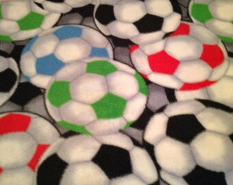 Fleece Soccer Pillowcase