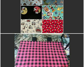 "Carseat Canopy ""Mickey or Minnie Mouse"""