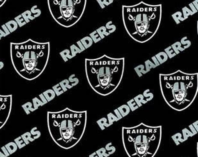 Oakland Raiders Fabric by the Yard