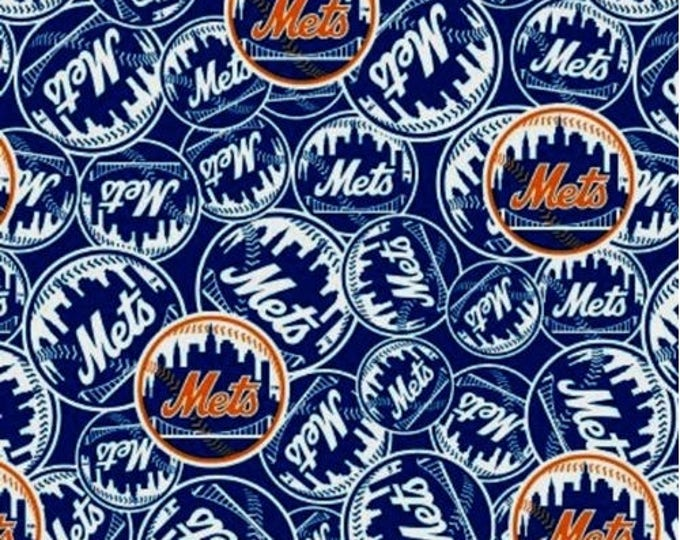 New York Mets Fabric by the Yard