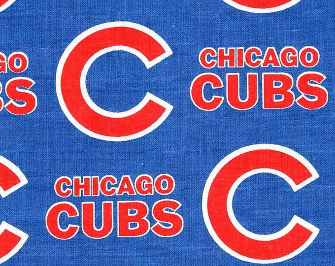 Chicago Cubs Fabric by the Yard