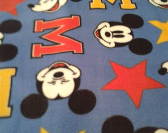 Fleece Mickey Mouse Handcrafted Blanket Sets
