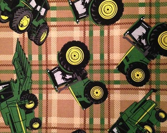 John Deere Lined Placemat, Bowl Mitt, Hot Pad, Matching Lined Table Runner
