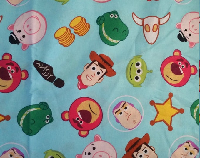 Toy Story Cotton Fabric by the Yard