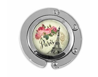 Purse Hook, Purse Hanger, Paris Purse Hanger, Eiffel Tower