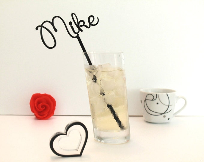 Personalized Cocktail Drink Stirrer Drink Stir Sticks Beach Cocktail Stick Wedding Table Decoration Birthday Cocktail Martini swizzle sticks