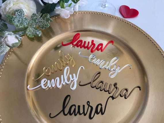 Personalized Wooden Wedding Place Seating Cards Rustic Acrylic Custom Wood Laser Cut Names Place name tags Reception Party Signs Calligraphy