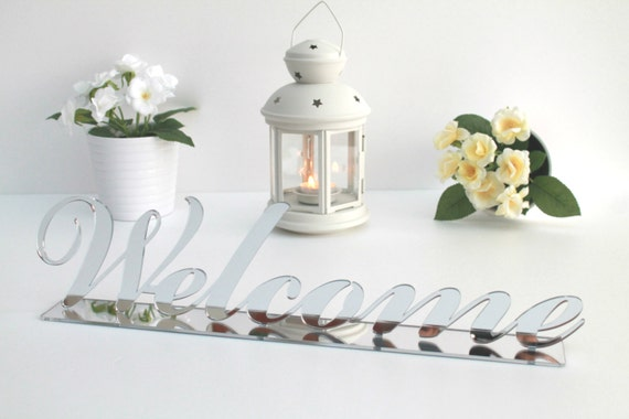 Welcome sign Wedding reception sign Baby shower sign Wedding acrylic custom welcome Wedding decor Table decor Reception decor Party signs