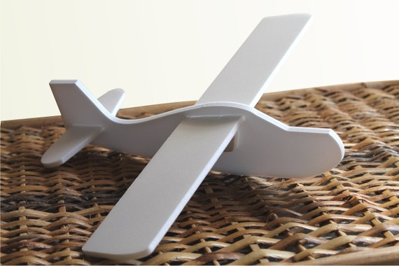 White styrofoam air plane DIY aeroplane Mobile aircraft kit Flying toys Hand launch air crafts Kids airplane DIY Painting toys Air plane toy