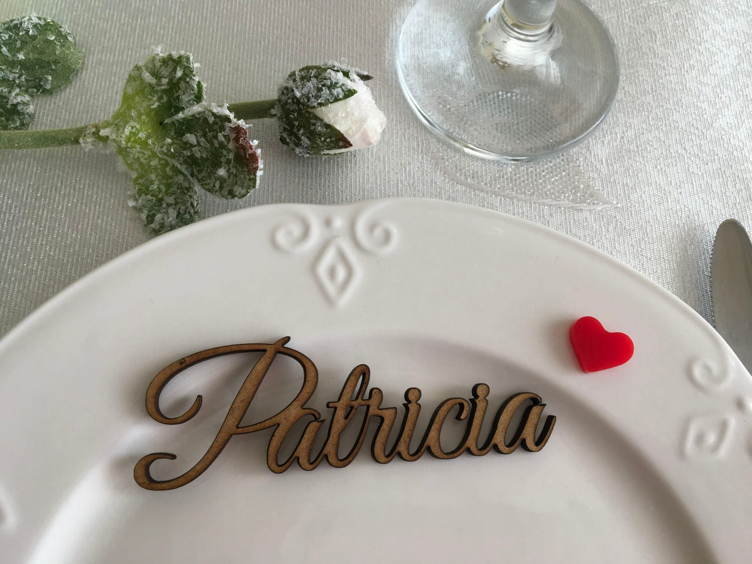 wooden names wedding place cards wooden letters custom