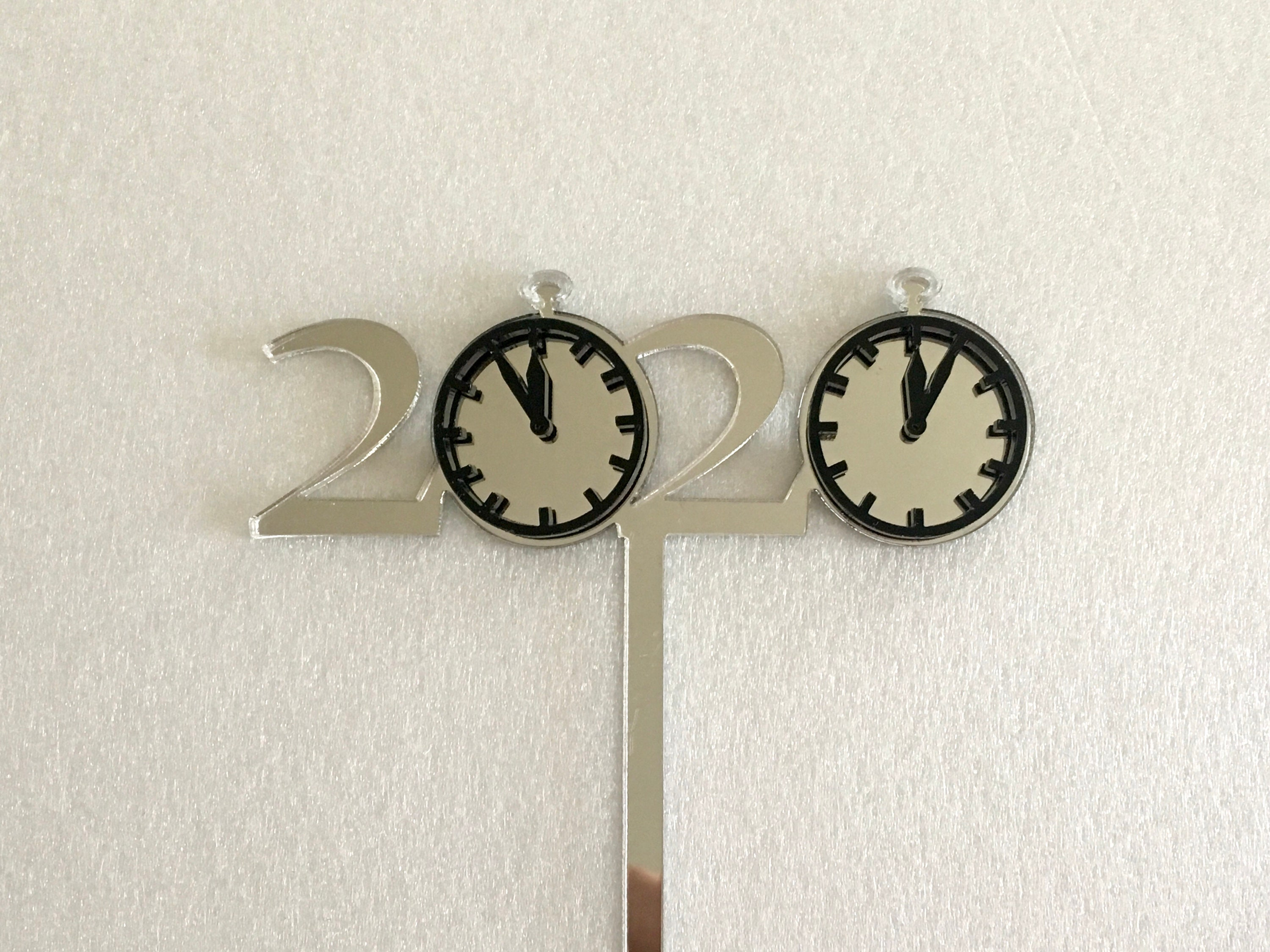 2020 New Year Celebration Cupcake Toppers 20s Theme Cake ...