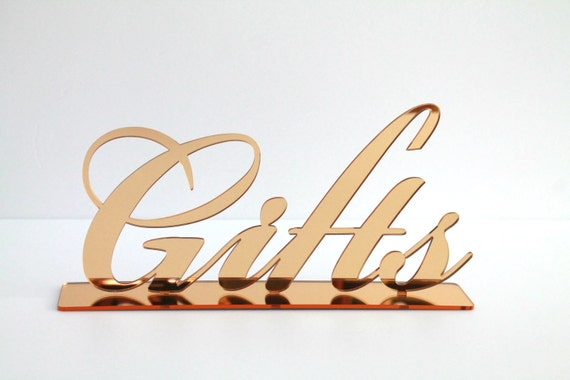 Gifts Table Sign Wedding sign Reception decorations Wedding reception Sign for wedding Bridal shower sign Birthday Party Decor Event Signs