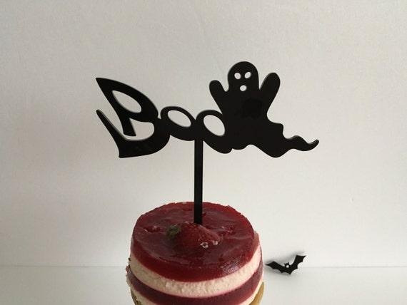 Boo Halloween boo Halloween ghost Halloween decoration Halloween cake topper Custom cake topper Boo cake topper Halloween party Party favors