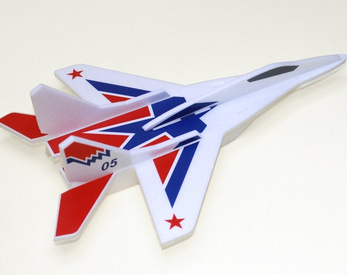 Airplane Jet Model MiG 29 Air Jet Glider Aeroplane Aircraft Kit Airplane Birthday Decorations Airplane Puzzle Aircraft Handmade Gift for Boy