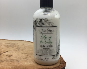 Lily of the Valley Handmade Vegan Shea Butter Lotion