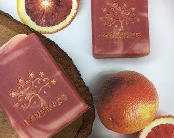 Blood Orange Handmade Vegan Bar Soap