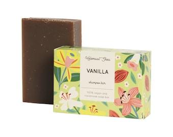 Vanilla shampoo bar - Vegan hair soap - Handmade soap, 100% natural!