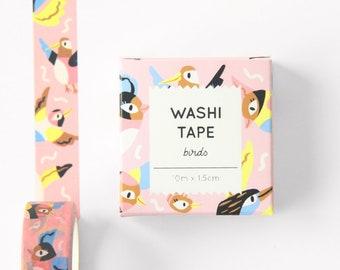 Washi tape - Birds - 10m x 1.5cm