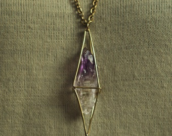 Crystal Amethyst Necklace
