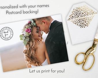 Wedding Thank You Cards Etsy NZ
