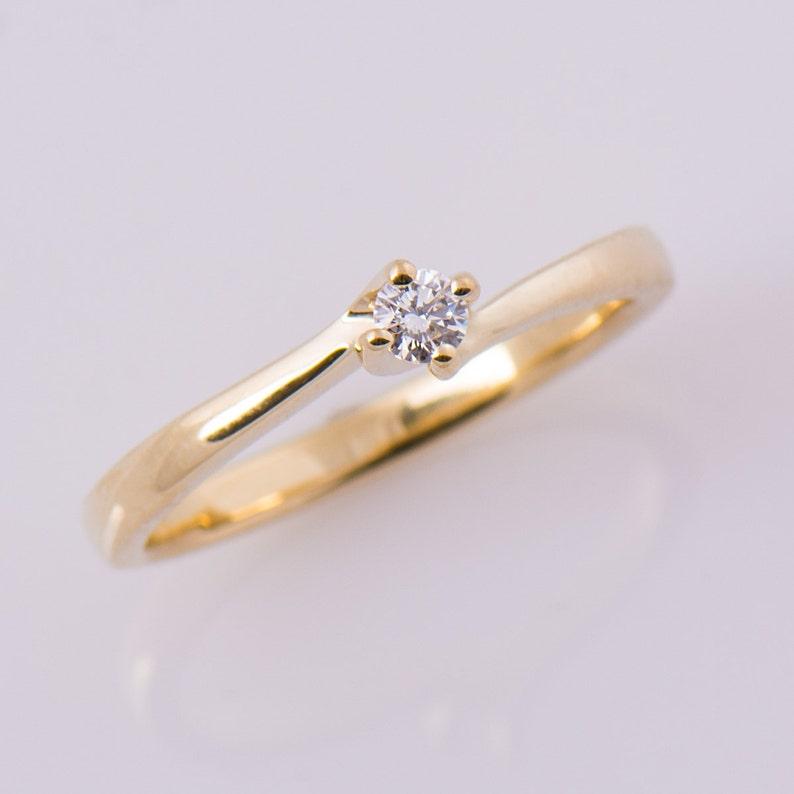 Pearl Good Anello You E Me E Diamante Oro Giallo Classico