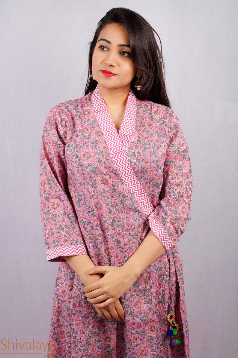 5bb271a650a0 Hand Block Printed Dress Block Print Dress Indian Tunics