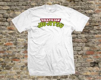Brazilian Jiu Jitsu BJJ Turtle T Shirt 100% cotton - 1038